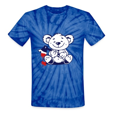 Bear with a bloody ax T-Shirts