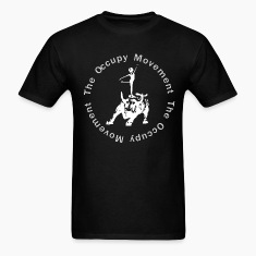 Occupy the Bull black T-Shirts