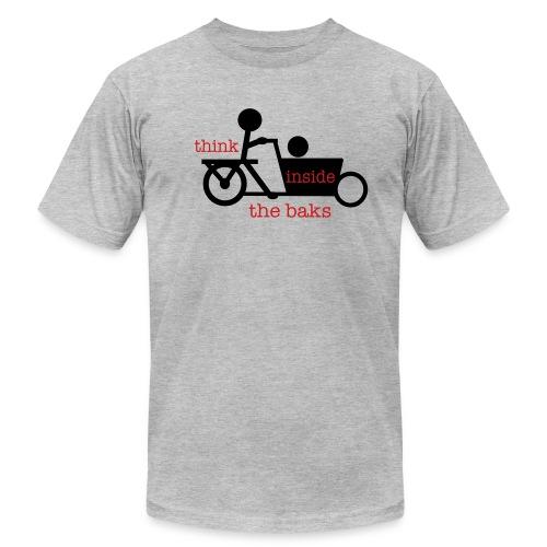 Think Inside the Baks - Men's Fine Jersey T-Shirt