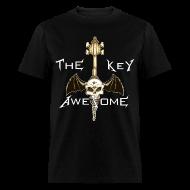 T-Shirts ~ Men's T-Shirt ~ METAL Key of Awesome! Men