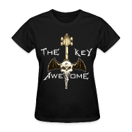 Women's T-Shirts ~ Women's T-Shirt ~ METAL Key of Awesome! Ladies