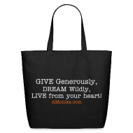 Bags & backpacks ~ Eco-Friendly Cotton Tote ~ Inspirational Tote