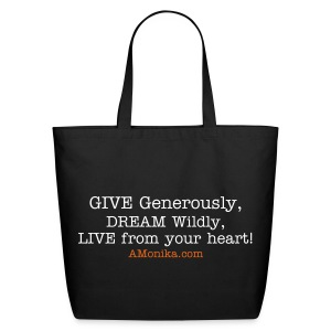 Inspirational Tote - Eco-Friendly Cotton Tote