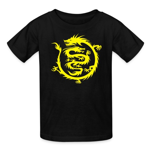 dragon & baby dragon kid's t-shirt - Kids' T-Shirt