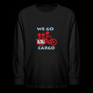Kids' Shirts ~ Kids' Long Sleeve T-Shirt ~ We Go Cargo