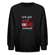Kids' Shirts ~ Kids' Long Sleeve T-Shirt ~ We Go Cargo