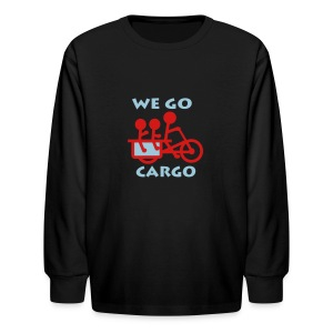 We Go Cargo - Kids' Long Sleeve T-Shirt