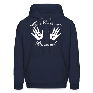 My Hands Are Bisexual - Men's Hoodie - Men's Hoodie