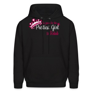 I'm gonna be the Prettiest Girl in Rehab - Men's Hoodie Dark - Men's Hoodie