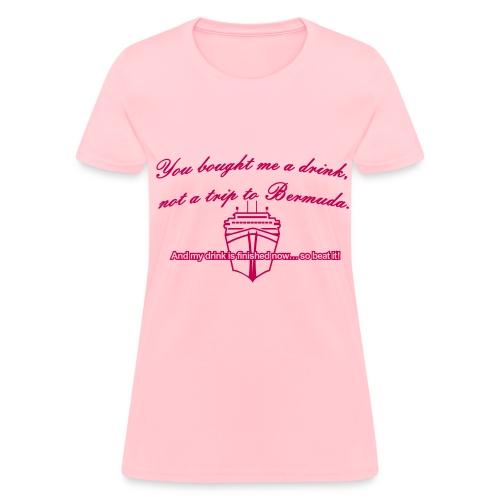 Trip to Bermuda - Women's T - Women's T-Shirt
