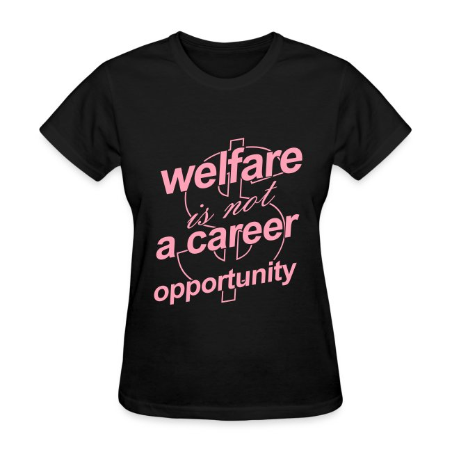 Welfare is not a Career Opportunity - Women's T