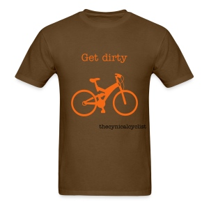 For the mountain bikers - Men's T-Shirt