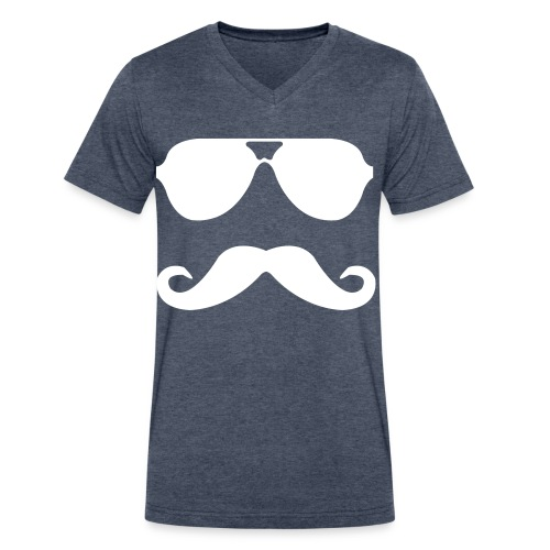 Moe Bro - Men's V-Neck T-Shirt by Canvas