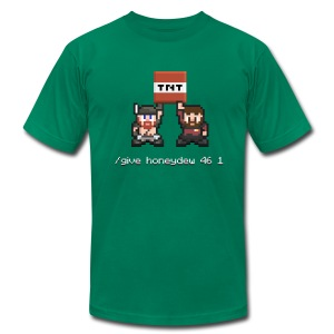 Superior Mens Tee: Honeydew TNT - Men's T-Shirt by American Apparel