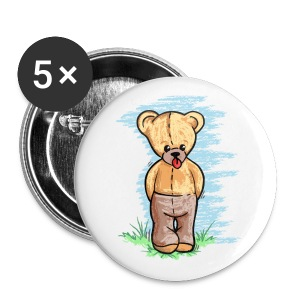 Teddy Bear - Large Buttons