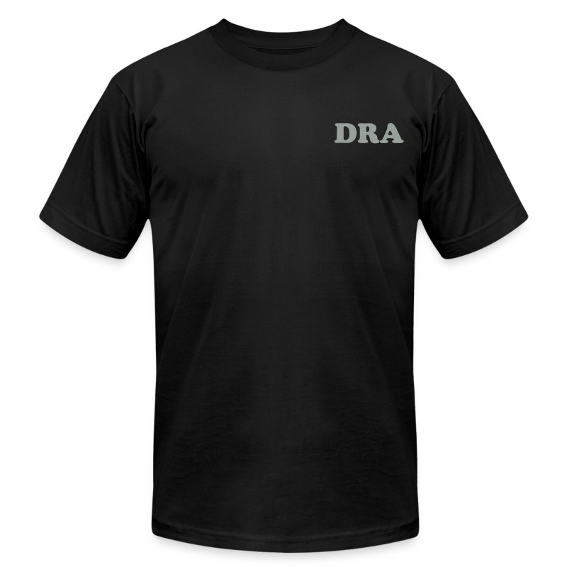 dra_shirt_logo - Men's T-Shirt by American Apparel