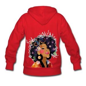 SN&LI! Hoodie Red in Color - Women's Hoodie