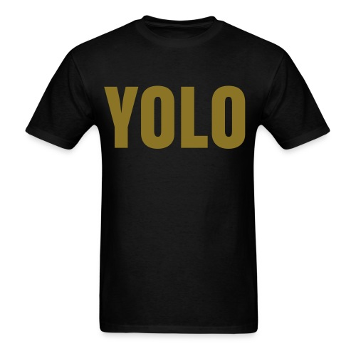 YOLO SWAG MEN'S TEE - Men's T-Shirt