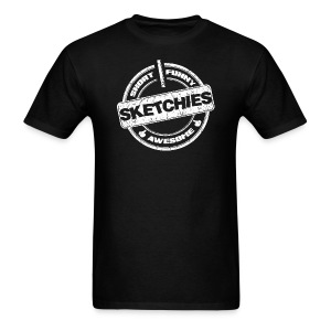 Sketchies T-Shirt - Men's T-Shirt