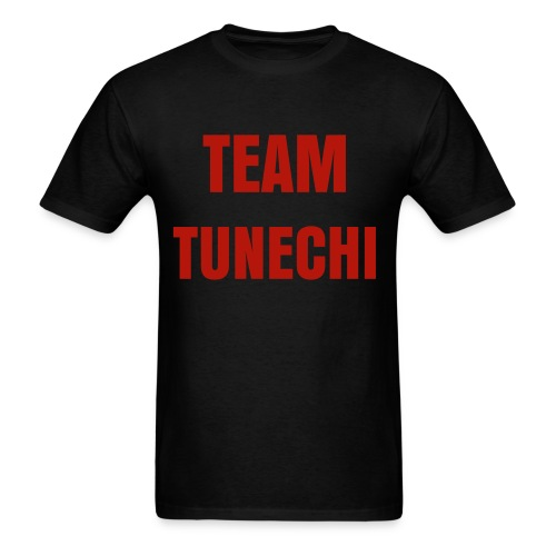 SWAG TEAM TUNECHI RED GLIMMER MEN'S TEE - Men's T-Shirt