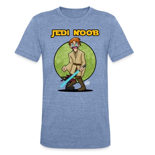Jedi Noob Vintage T-Shirt - Unisex Tri-Blend T-Shirt