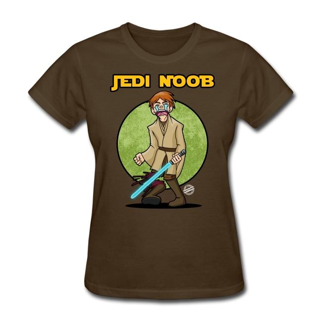 Jedi Noob Womens T-Shirt