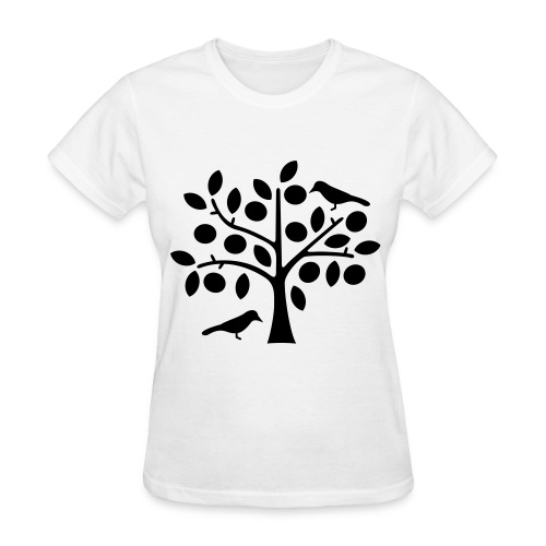 Tree & Bird Tee - Women's T-Shirt