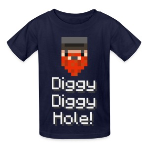 Kids Tee: Diggy Diggy Hole - Kids' T-Shirt