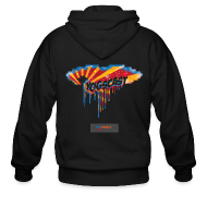 Zip Hoodies & Jackets ~ Men's Zip Hoodie ~ Mens Zip Hoodie: Yogscast Rain