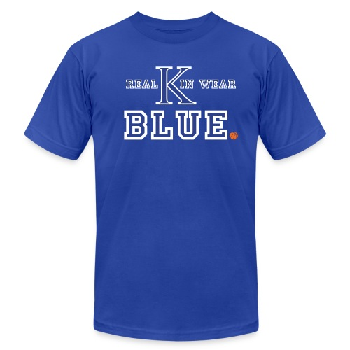 Real Kin Wear Blue - UK Basketball - Unisex - Men's  Jersey T-Shirt