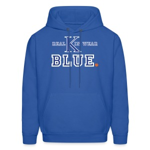 Real Kin Wear Blue - UK Basketball Hoodie - Men's Hoodie
