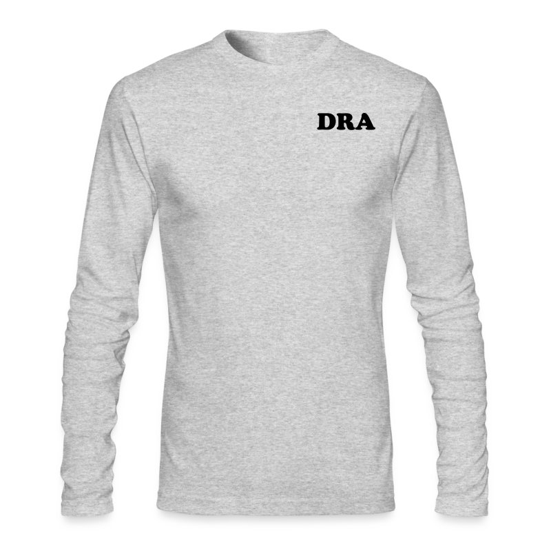 dra_shirt_logo - Men's Long Sleeve T-Shirt by Next Level