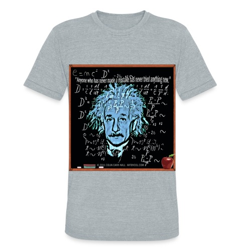 Theory of Relativity by Colin Carr-Nall - Unisex Tri-Blend T-Shirt