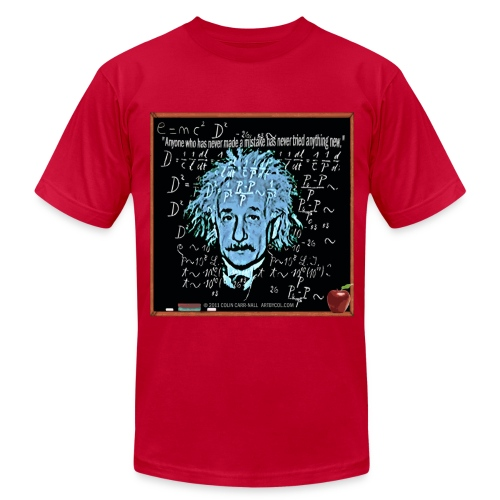 Theory of Relativity by Colin Carr-Nall - Men's Fine Jersey T-Shirt