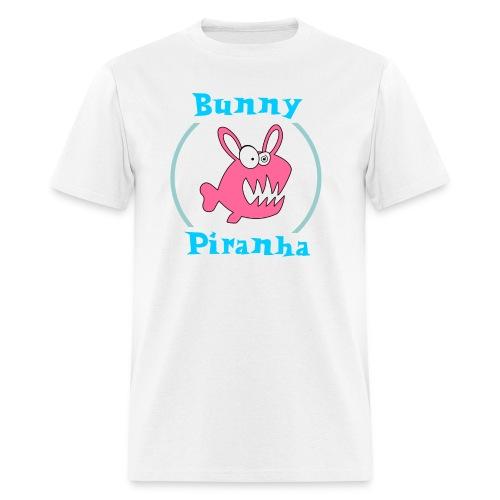 Bunny Piranha - Men's T-Shirt