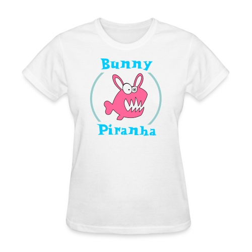 Bunny Piranha - Women's T-Shirt