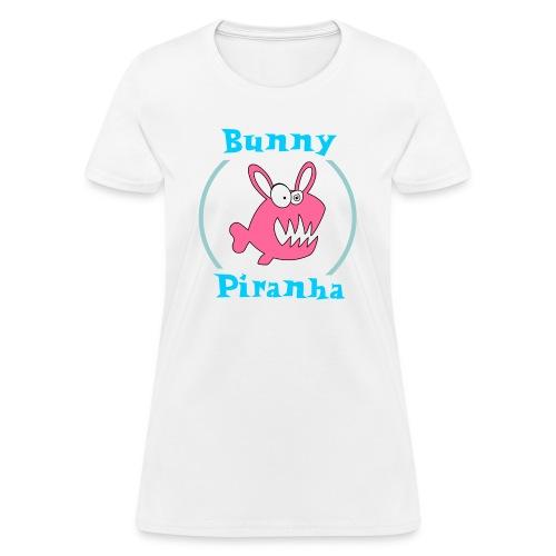 Bunny Piranha - Women's T-Shirt