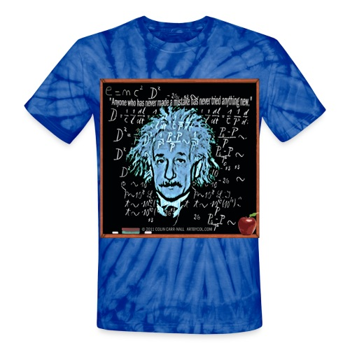 The Theory of Relativity by Colin Carr-Nall. The term theory of relativity was based on the expression relative theory (German: Relativtheorie) used by Max Planck in 1906, who emphasized how the theory uses the principle of relativity. In the discussi - Unisex Tie Dye T-Shirt