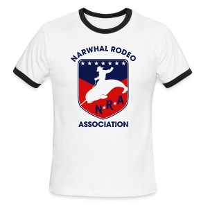 Narwhal Rodeo Association - Men's Ringer T-Shirt