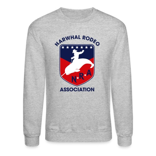 Narwhal Rodeo Association - Crewneck Sweatshirt