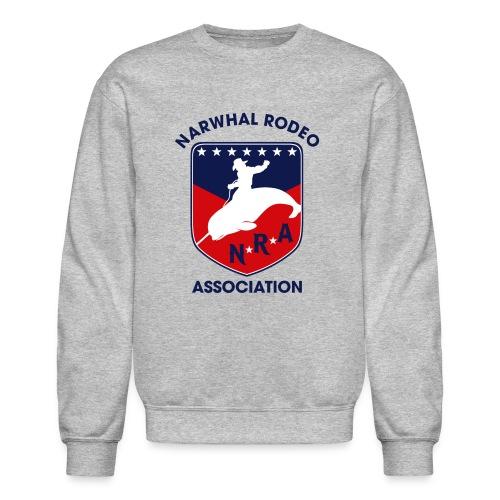 Narwhal Rodeo Association - Crewneck Sweatshirt