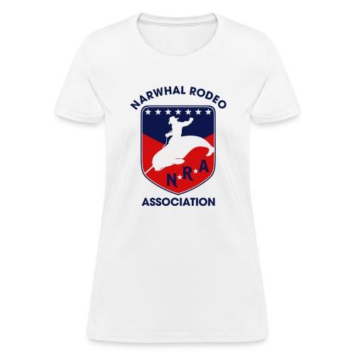 Narwhal Rodeo Association - Women's T-Shirt