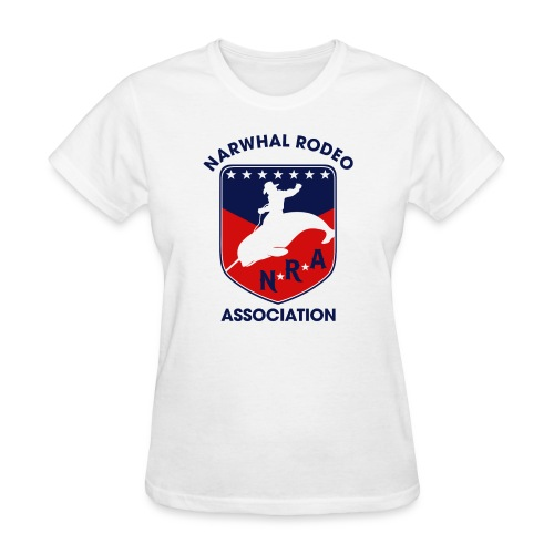Narwhal Rodeo Association - Women's T-Shirt