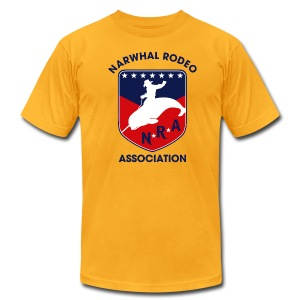 Narwhal Rodeo Association - Men's T-Shirt by American Apparel