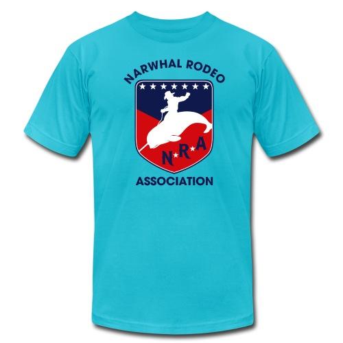 Narwhal Rodeo Association - Men's Fine Jersey T-Shirt