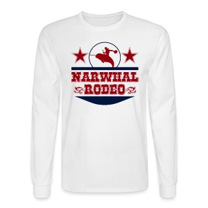 Narwhal Rodeo - Men's Long Sleeve T-Shirt