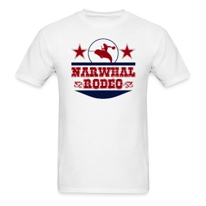 Narwhal Rodeo - Men's T-Shirt