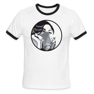 Graf mask - Men's Ringer T-Shirt