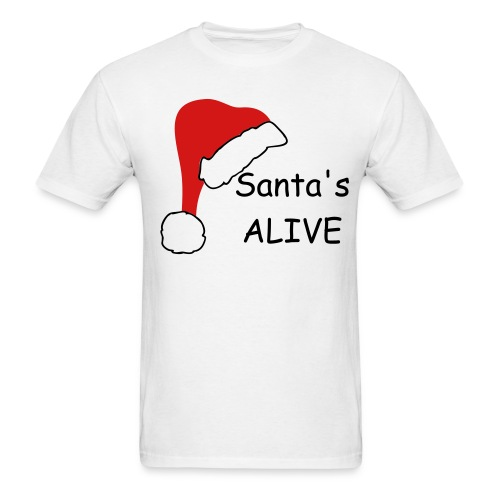 Alive santa - Men's T-Shirt