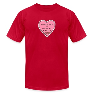 Superior Mens Tee: Minecraft Love - Men's T-Shirt by American Apparel
